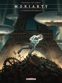 Fred Duval et Jean-Pierre Pécau - Sherlock Holmes - Les Chroniques de Moriarty Tome 3 : Le voleur aux cent visages.