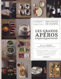 Fred Lucano et  Mmmmh ! - Les grands apéros simples et gourmands - Classique carnet n°2.