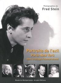 Fred Stein et Anne Egger - Portraits de l'exil Paris-New York - Dans le sillage d'Hannah Arendt.