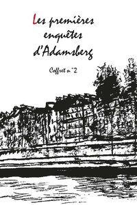 Fred Vargas - Les premières enquêtes d'Adamsberg coffret N°2 - Coffret en 2 volumes : Pars vite et retiens tard ; Dans les bois éternels. Avec 1 marque-page.