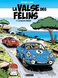 Fred Weytens et  Skiav - La valse des félins Tome 1 : Le rallye Winter.