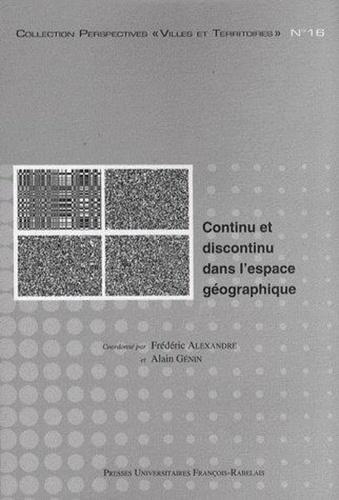 Continu et discontinu dans l'espace géographique