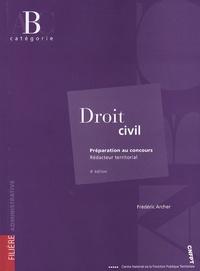 Frédéric Archer - Droit civil - Rédacteur territorial.
