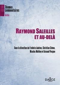 Frédéric Audren et Christian Chene - Raymond Saleilles et au-delà.