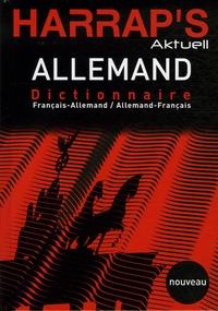 Deedr.fr Harrap's Aktuell Allemand - Dictionnaire français-allemand et allemand-français Image