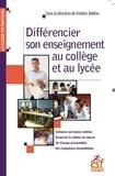 Frédéric Bablon - Différencier son enseignement au collège et au lycée.