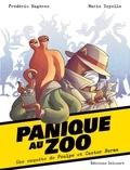 Frédéric Bagères et Marie Voyelle - Panique au Zoo - Une enquête de Poulpe et Castor Burma.
