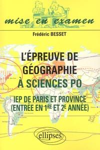 Lépreuve de géographie à Science Po. IEP de Paris et Province, entrée en 1ère et 2ème année.pdf