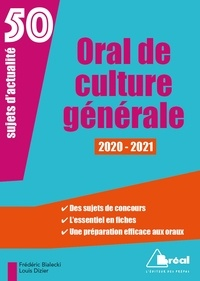 Frédéric Bialecki et Louis Dizier - Culture générale - 50 sujets d'actualité.