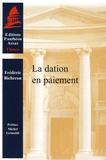 Frédéric Bicheron - La dation en paiement.