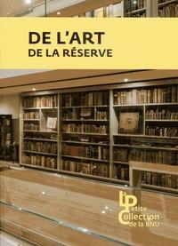 Frédéric Blin - De l'art de la réserve.