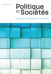 Frédéric Boily et Natalie Boisvert - Politique et Sociétés  : Politique et Sociétés. Vol. 33 No. 3,  2014.