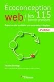 Frédéric Bordage - Ecoconception web, les 115 bonnes pratiques - Doper son site et réduire son empreinte écologique.