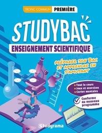 Frédéric Borel et Aurélien Carnoy - Cahier Studybac - Enseignement scientifique - première - tronc commun - Préparer son Bac et apprendre en s'amusant.
