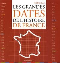 Frédéric Bosc - Les Grandes Dates de l'histoire de France.