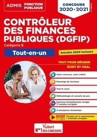 Frédéric Bottaro et Dominique Dumas - Tout-en-un Concours contrôleur des finances publiques (DGFIP), catégorie B.