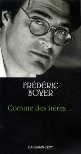 Frédéric Boyer - .