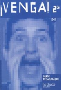Frédéric Brévart - Allemand 2e A2/B1 Venga ! - Guide pédagogique, programmes 2010.