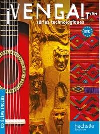 Frédéric Brévart et Patricia Bertomeu-Vicens - Venga ! Tle Séries technologiques B1-B2. 1 CD audio