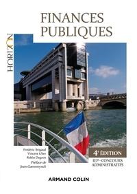Frédéric Brigaud et Vincent Uher - Finances Publiques - 4e éd. - IEP-Concours administratif - IEP-Concours administratif.