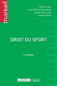 Frédéric Buy et Jean-Michel Marmayou - Droit du sport.