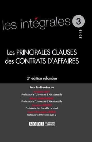 Frédéric Buy et Marie Lamoureux - Les principales clauses des contrats d'affaires.