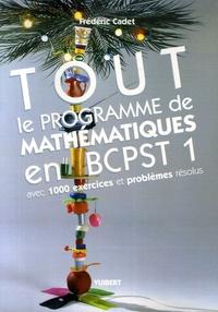 Corridashivernales.be Tout le programme de mathématiques en BCPST 1 - Avec 1000 exercices et problèmes résolus Image