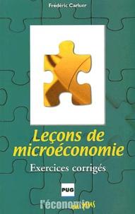 Leçons de microéconomie. Exercices corrigés.pdf