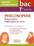 Frédéric Chanu et Lolita Folliot - Philosophie Tle toutes séries - Dissertation et explication de texte, du brouillon à la rédaction.