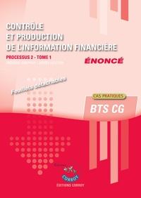 Galabria.be Contrôle et production de l'information financière - Processus 2 Tome 1 du BTS CG. Enoncé Image