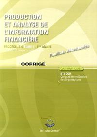 Production et analyse de linformation financière Processus 4 du BTS CGO Tome 1 - Corrigé.pdf