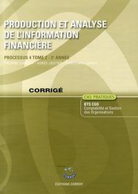 Galabria.be Production et analyse de l'information financière Processus 4 du BTS CGO - Corrigé Image