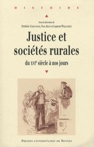 Ebooks gratuits pour les téléchargements Justice et sociétés rurales  - Du XVIe siècle à nos jours, Approches pluridisciplinaires 9782753513556 in French