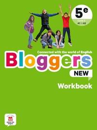 Frédéric Chotard et Nathalie Brient - Anglais 5e Bloggers New - Workbook.