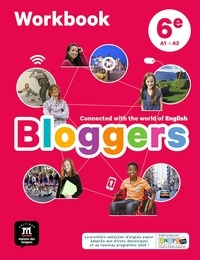 Frédéric Chotard et Nathalie Brient - Anglais 6e A1-A2 Bloggers - Workbook.