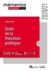 Frédéric Colin - Droit de la fonction publique.