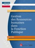 Frédéric Colin - Gestion des Ressources humaines dans la Fonction Publique.
