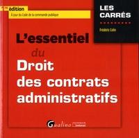 Téléchargement de livres gratuits sur ipad L'essentiel du droit des contrats administratifs par Frédéric Colin