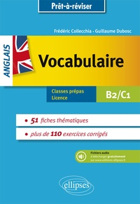 Anglais Vocabulaire Classes Prepas Licence B2 C1 Pdf Livre
