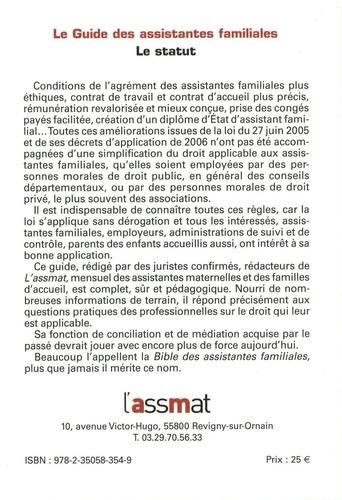 Le guide des assistantes familiales. Le statut  Edition 2021-2022