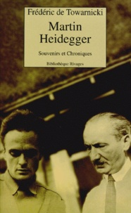 MARTIN HEIDEGGER. - Souvenirs et Chroniques.pdf