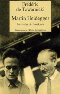 Frédéric de Towarnicki - Martin Heidegger.