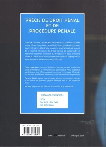 Précis de droit pénal et de procédure pénale 8e édition
