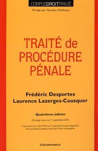 Frédéric Desportes et Laurence Lazerges-Cousquer - Traité de procédure pénale.