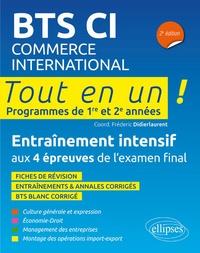 Frédéric Didierlaurent - BTS CI Commerce International - Tout en un, programmes de 1re et 2e années.