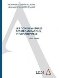 Frédéric Dopagne - Les contre-mesures des organisations internationales.
