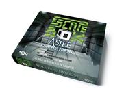 Frédéric Dorne - Escape box Asile psychiatrique - Contient : 3 livrets, 131 cartes, 1 bande-son de 60 minutes, 1 poster, 6 badges.