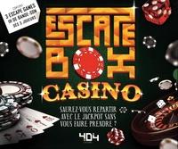 Frédéric Dorne - Escape box Casino - Contient : 3 livrets, 131 cartes, 1 bande-son de 60 minutes, 1 poster, 6 badges.