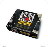 Frédéric Dorne - Escape box Enquête - Contient : 1 livret, 40 cartes, 1 bande-son de 60 minutes, 1 poster.