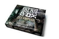 Frédéric Dorne - Escape box steampunk - Avec 3 livrets, 131 cartes, 1 bande-son de 60 minutes, 1 poster, 6 badges.